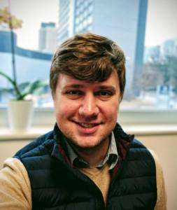 Project manager Daniel Siksay