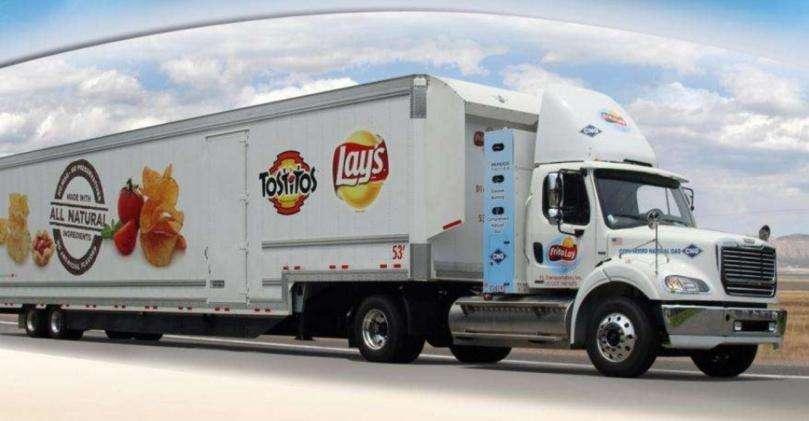 Frito Lay CNG Tractor Trailer