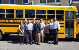 CMCSS largest alt-fuel school bus fleet