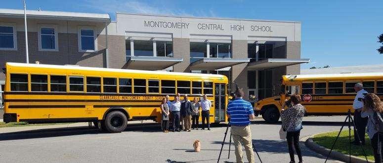 CMCSS propane school buses