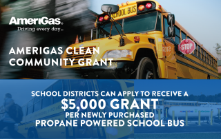 AmeriGas grant for propane powered school bus fleets